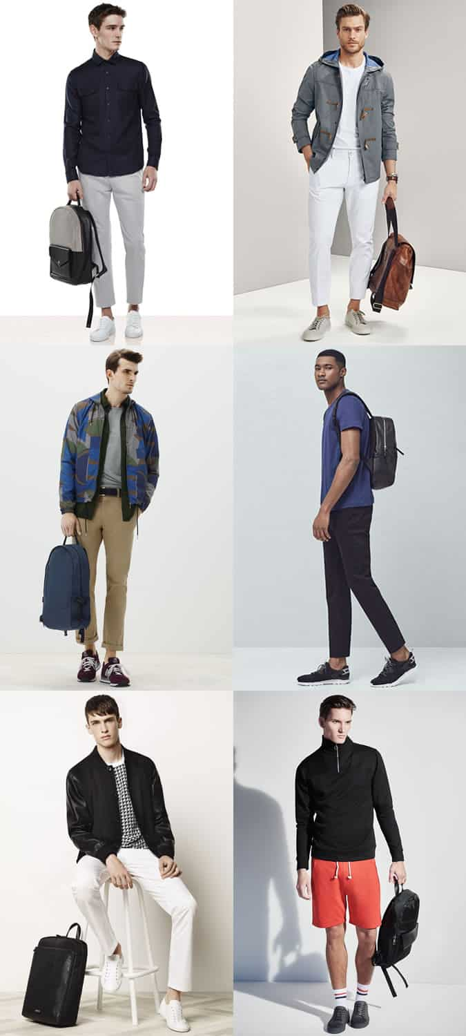 Men's Smart Backpacks - Outfit Inspiration Lookbook