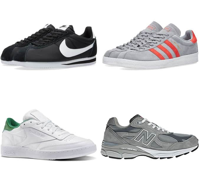 Men's Trainer Reissues - Sneaker Trends 2016