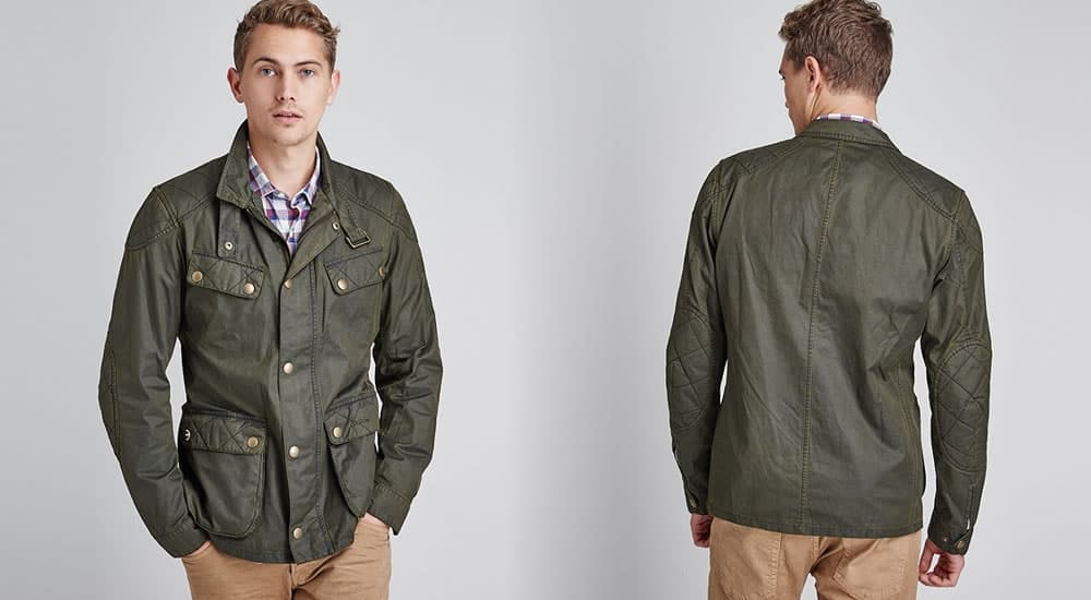 Barbour International Steve McQueen Double Colour Jacket