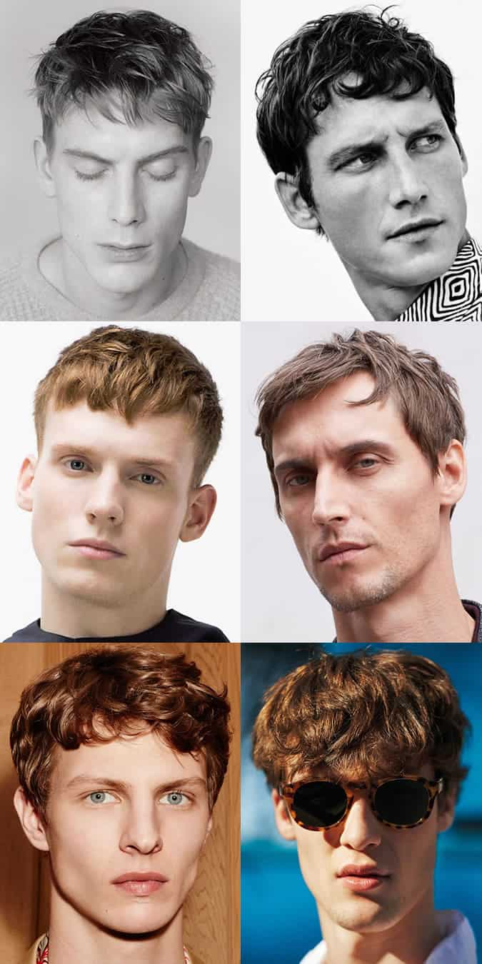 Men's Spring/Summer 2016 Hair Trends - Short Textured Crop Hairstyles and Cuts
