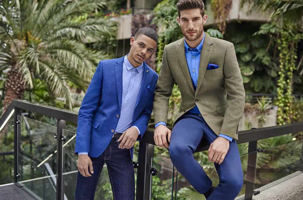 Moss Bros Weekend Blue Suits Offer