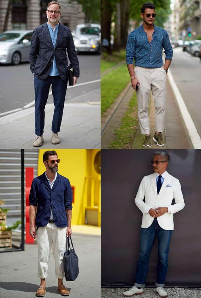 Men's Fashion Week Street Trends