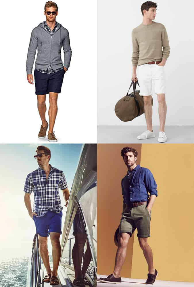 Men's Holiday/Summer Fashion Outfit Inspiration - Chino Shorts