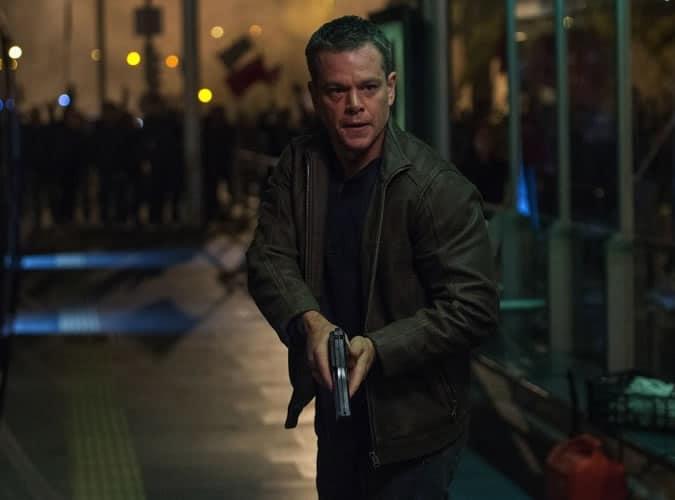 MAtt Damon in Jason Bourne 2016