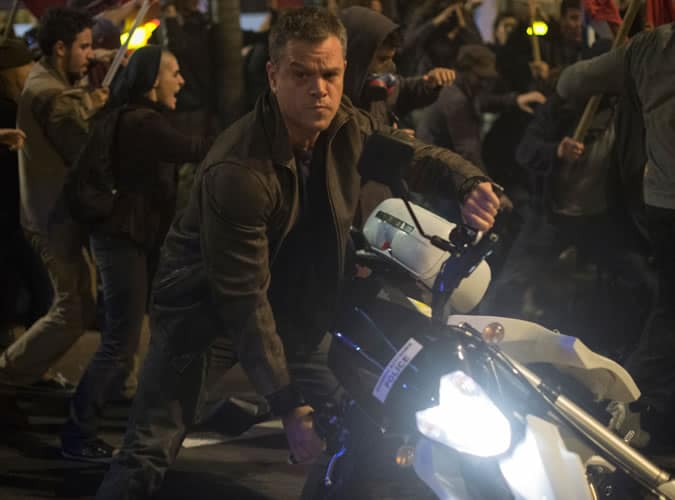 MAtt Damon in Jason Bourne 2016