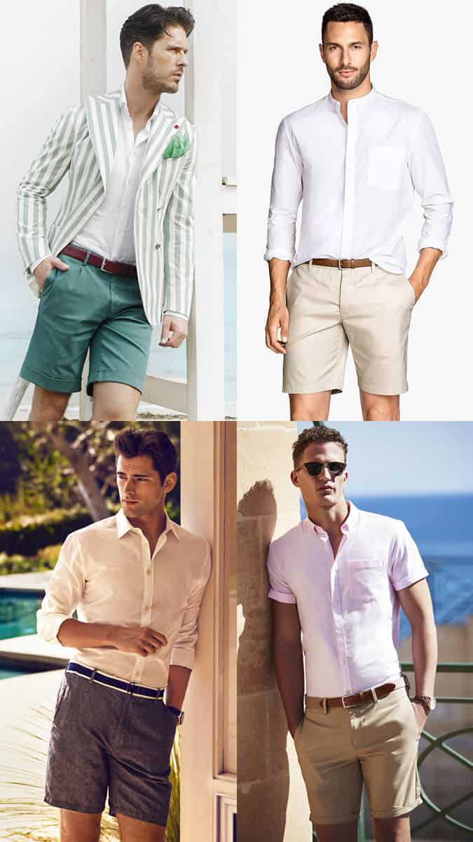 Men's Summer Wedding Shorts Fashion/Style Outfit Inspiration Lookbook