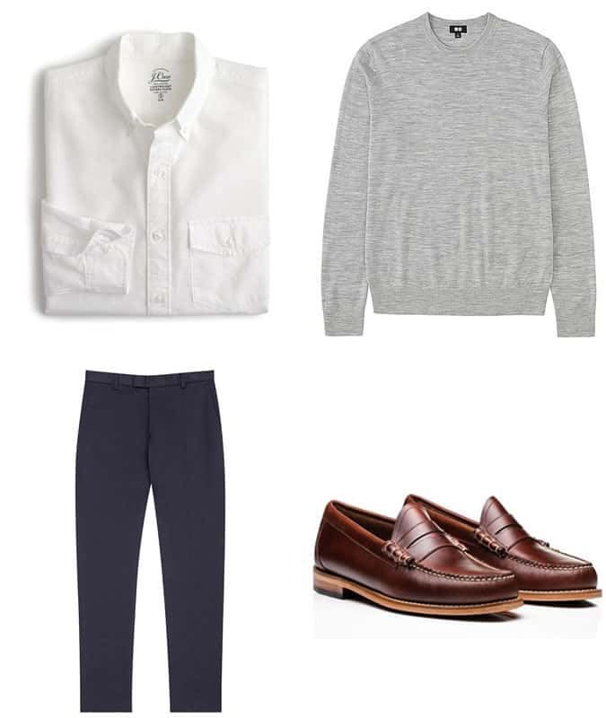 Men's Semi-Formal Office Outfit