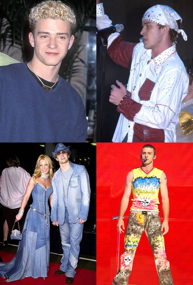 Justin Timberlake - Style/Fashion Mistakes