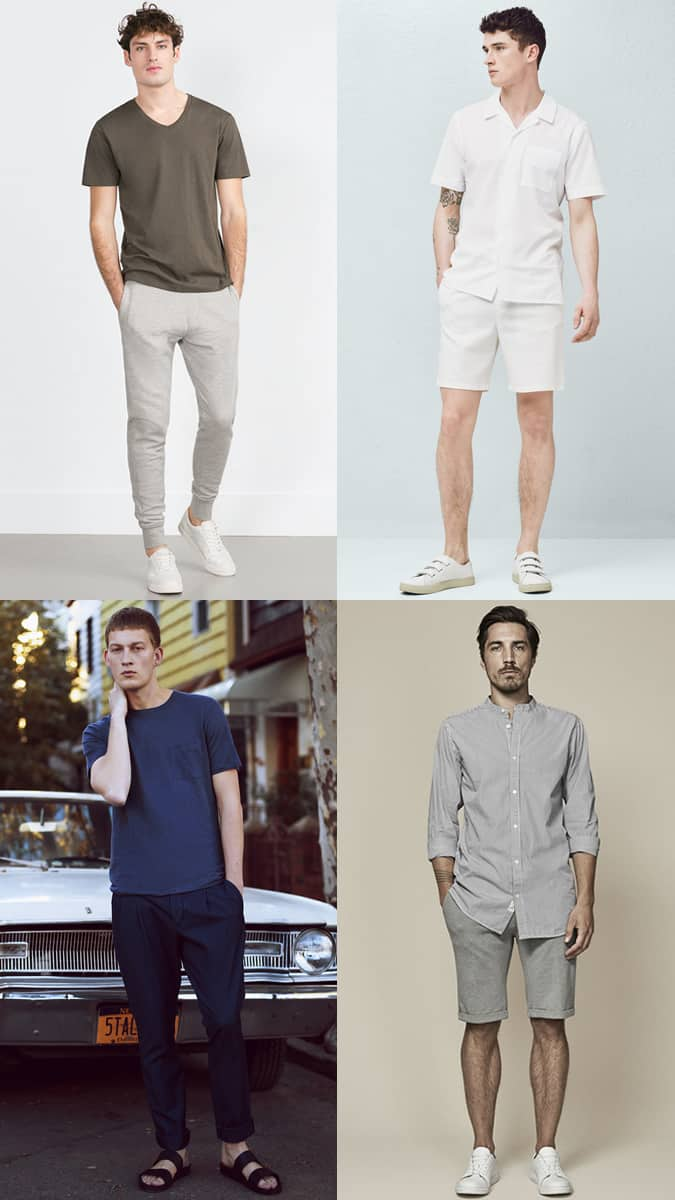 Men's Minimal Summer Fashion/Style Casual/Simple Outfit Inspiration Lookbook