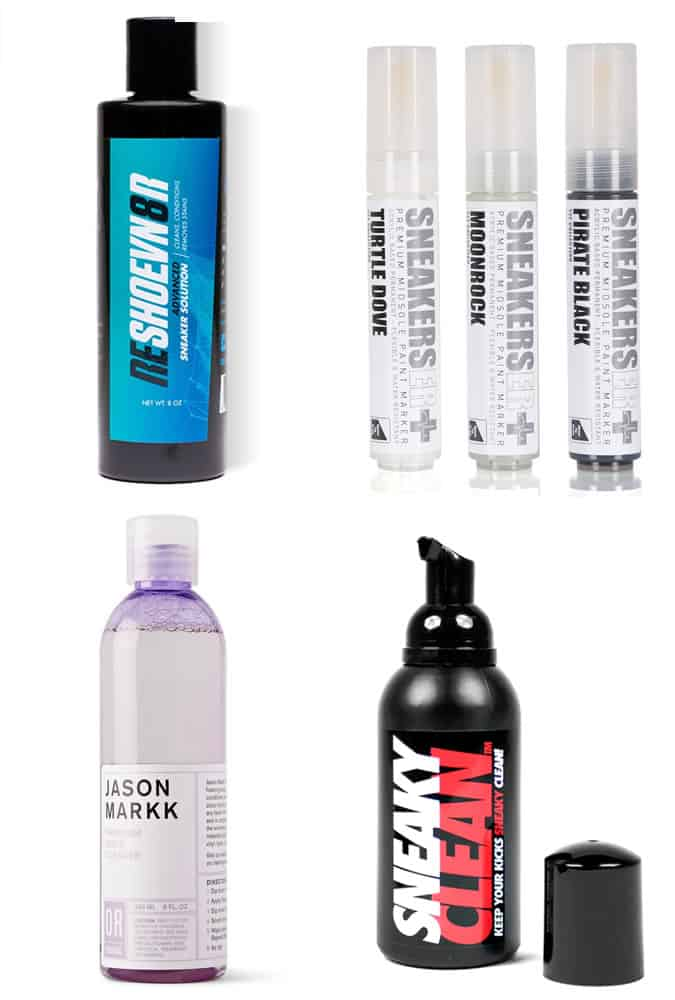 Men's Trainer Cleaning Solutions