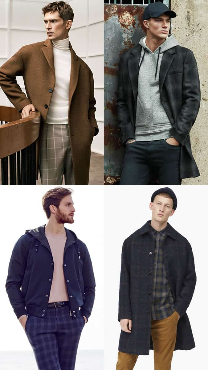 Men's Checked Clothing Outfit Inspiration Lookbook