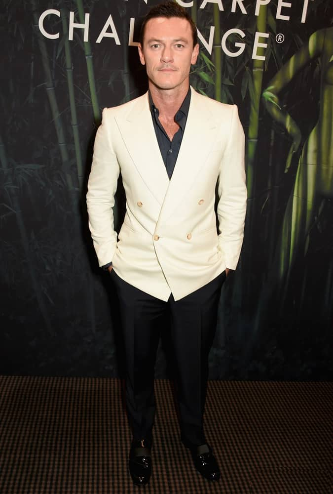 Luke Evans at Green Carpet Challenge BAFTA Night To Remember, London