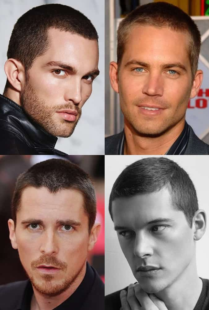 Men's Butch Buzz Cuts Hairstyles