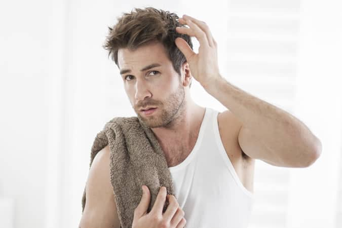Men's Hair Myths Debunked - Plucking A Grey Hair Makes More Grow