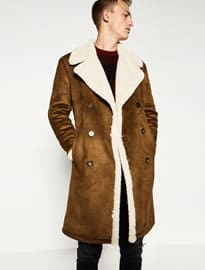 Zara Double-Faced Coat