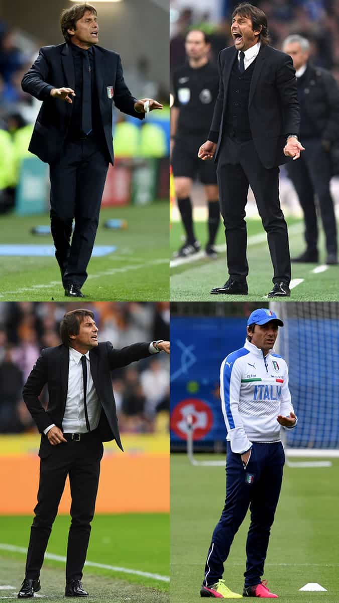Antonio Conte Outfits/Style