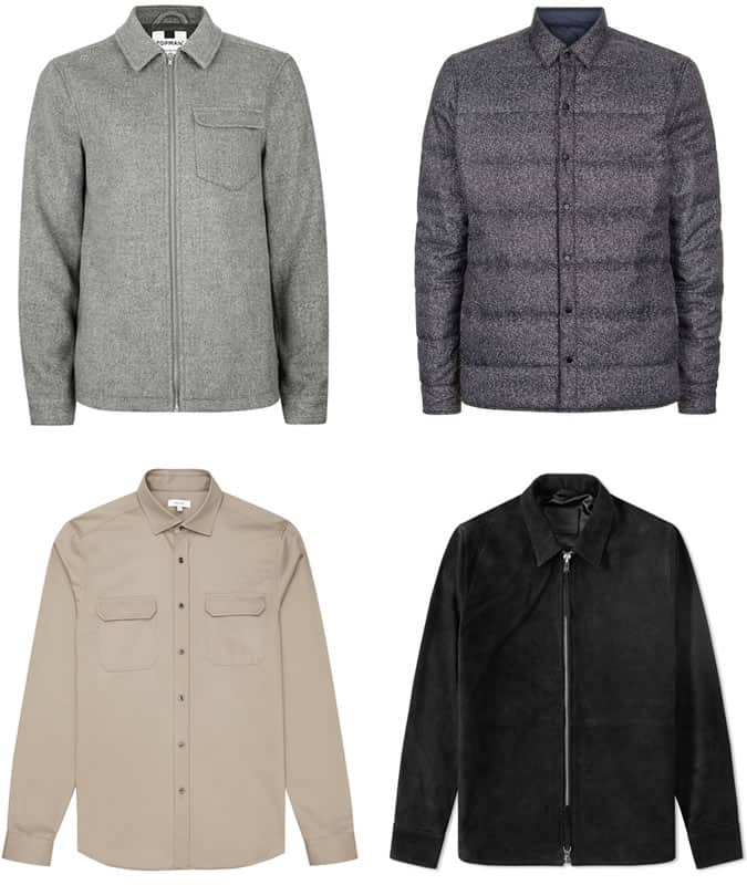Men's Overshirts and Shackets