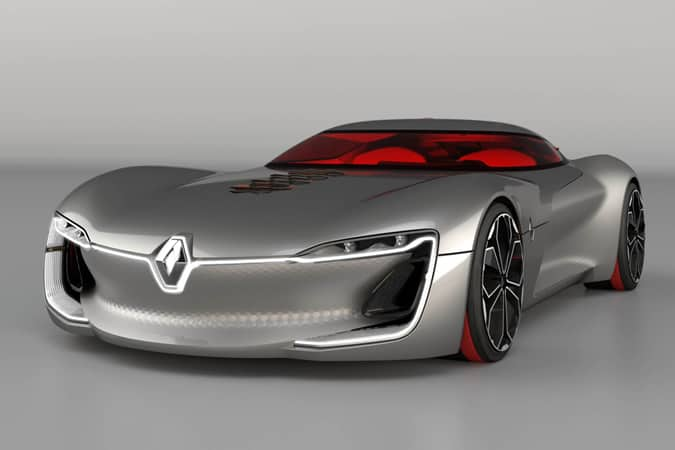 Renault Trezor Electric Coupé Concept