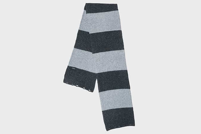 Pringle Striped Lambswool Scarf