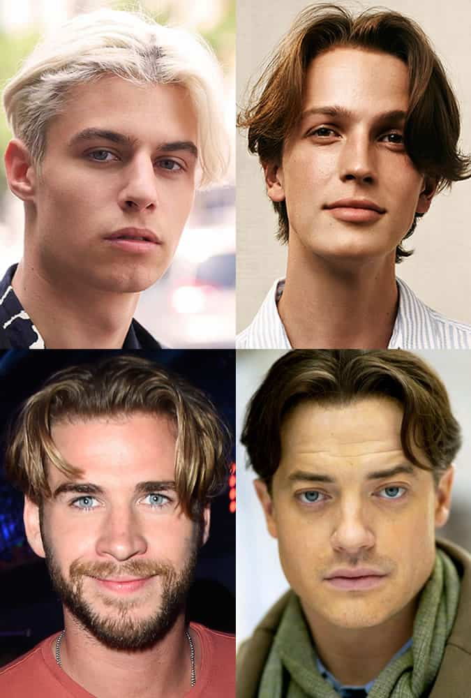 Men's Hairstyles Trends for 2017 - Curtains and Centre Partings