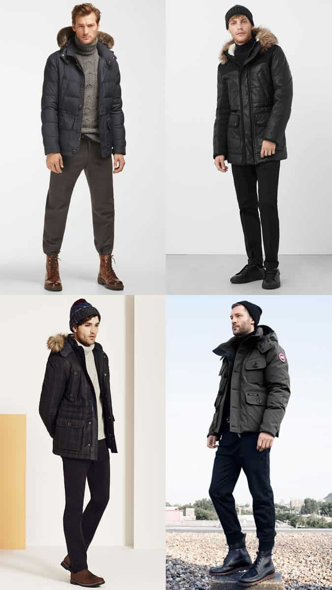 Men's New Year's Eve Fireworks Display Outfit Inspiration Lookbook