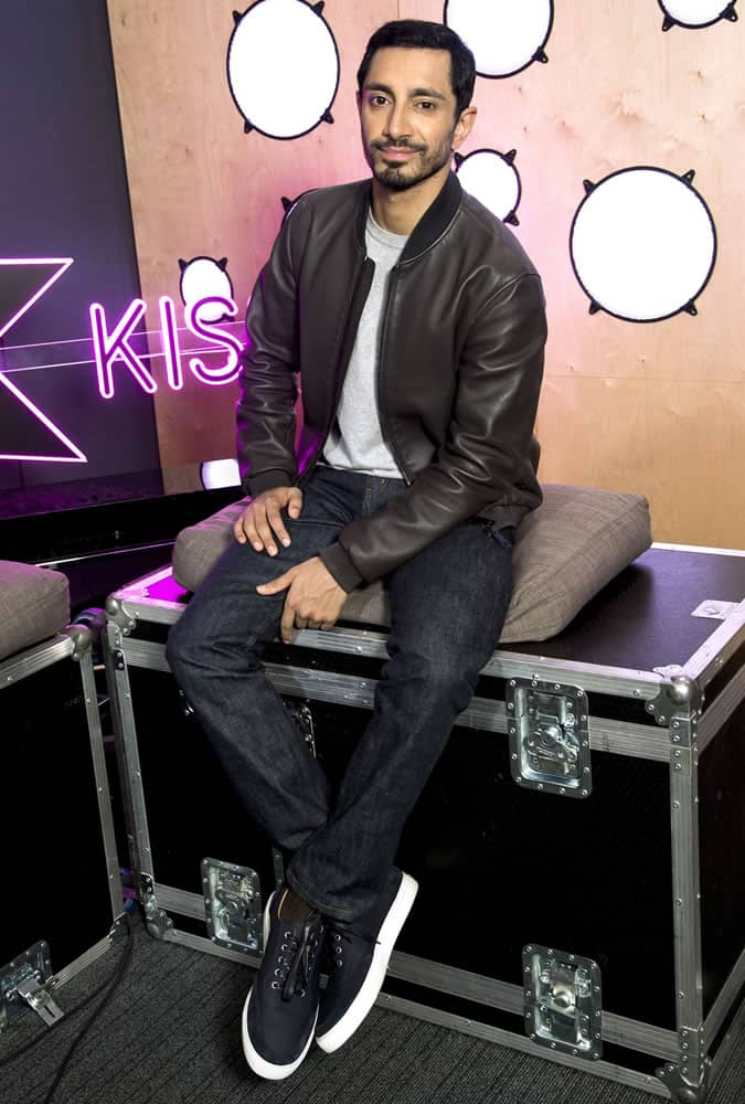 Riz Ahmed Visiting Kiss FM London