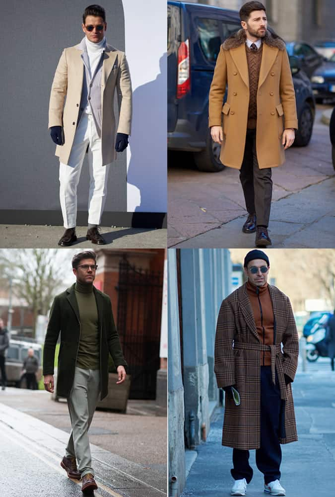 Men's AW17 Fashion Week Street Style Trends - Earth Tones