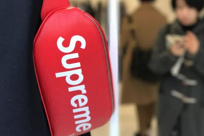 Louis Vuitton x Supreme Collaboration