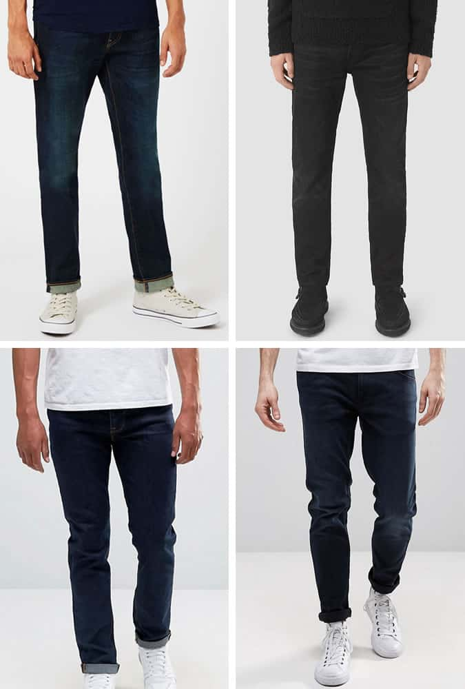 Recommended Jeans for Tall Men