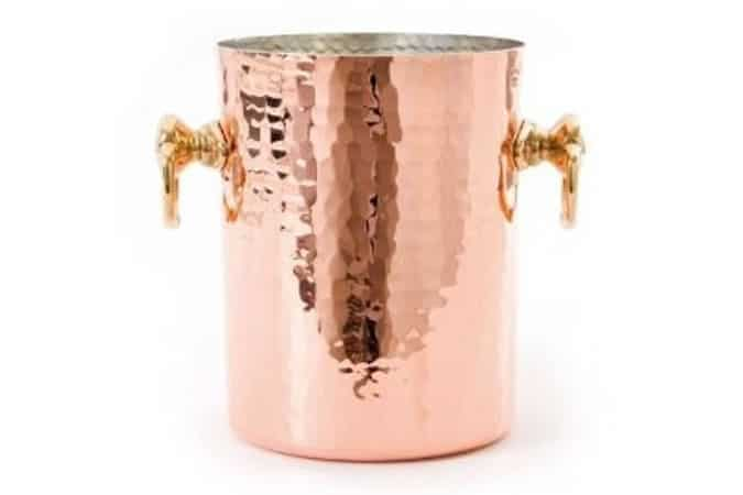 MAUVIEL COPPER CHAMPAGNE BUCKET