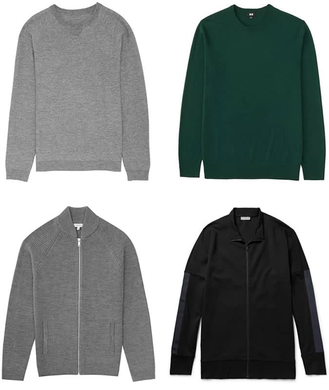 Men's Business-Casual Crew Neck Sweaters
