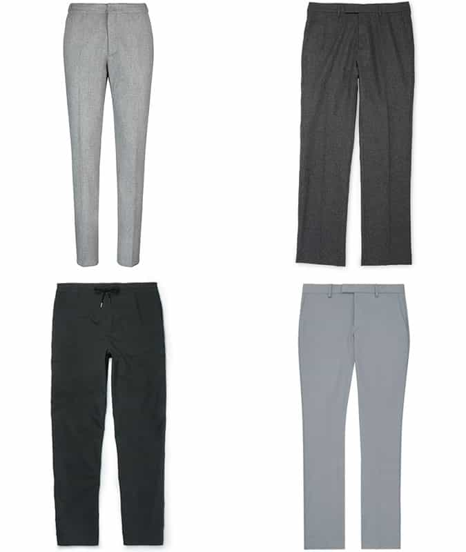 Men's Business-Casual Trousers and Chinos