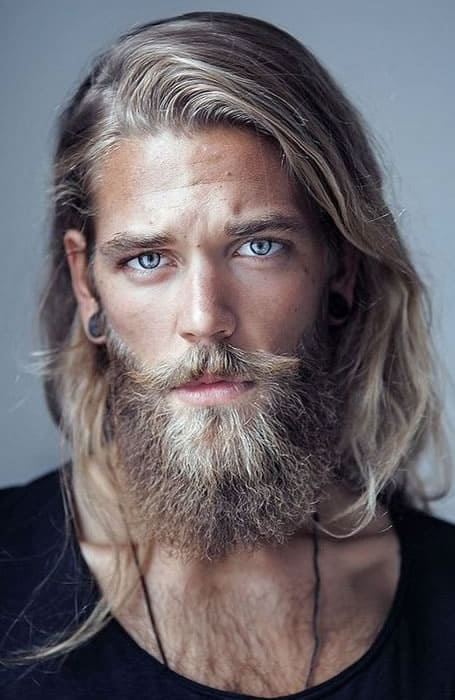 40 of the best mens long hairstyles fashionbeans long hair with beard mens long hairstyles urmus Gallery