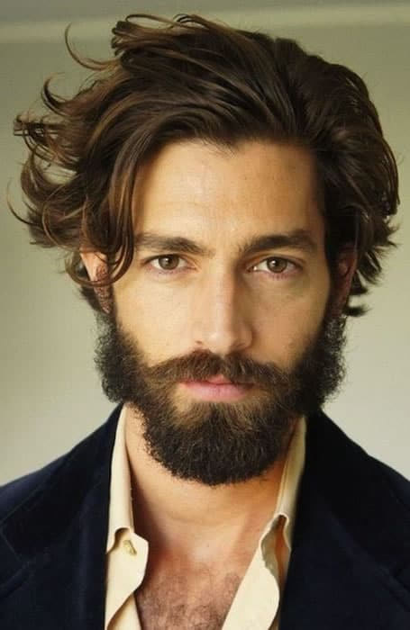 40 of the best mens long hairstyles fashionbeans mens long hairstyles urmus Choice Image