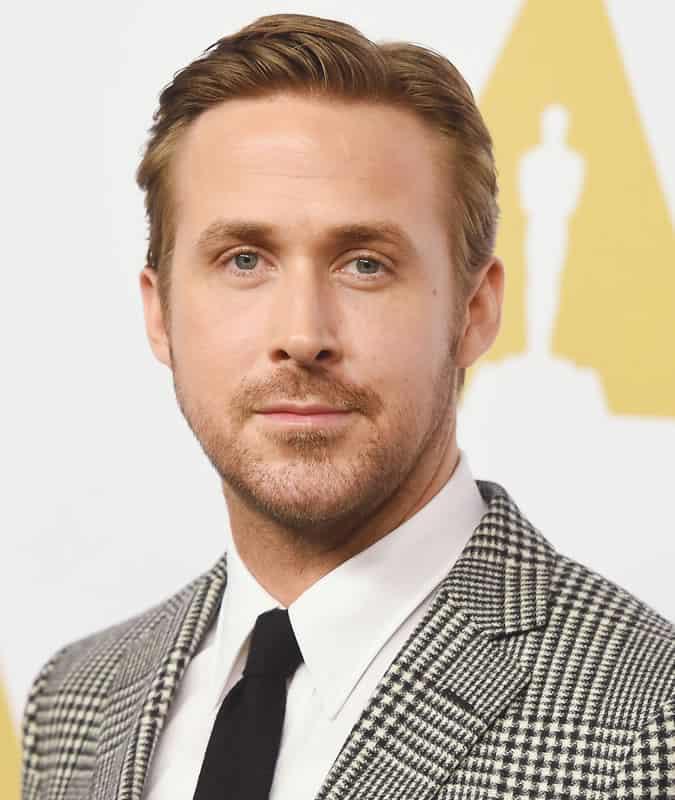 Ryan Gosling Soft Quiff