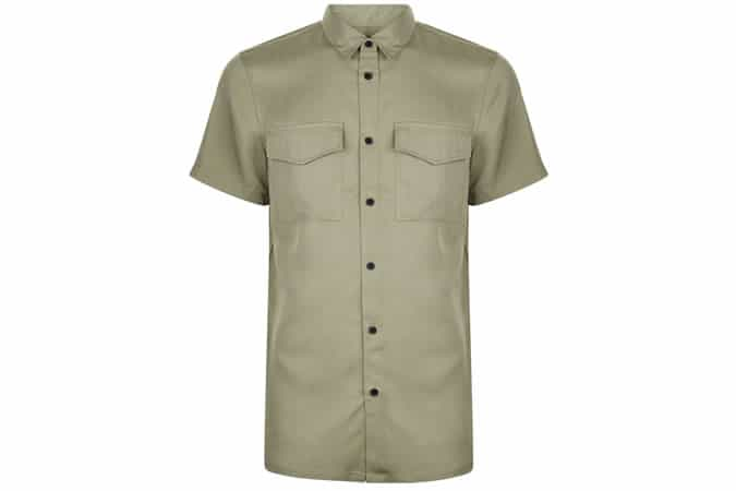 New Look Khaki Utility Shirt