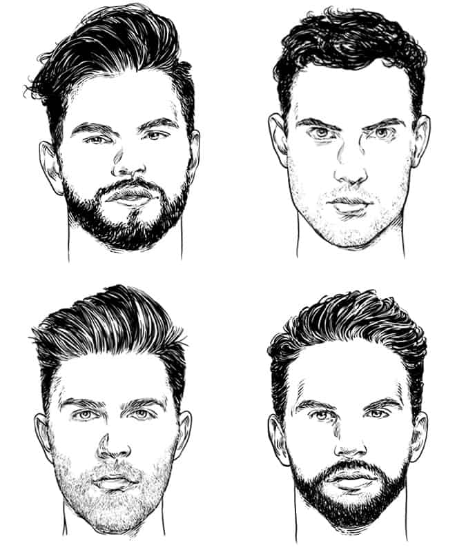 Pick A Haircut And Beard That Suits Your Face Shape