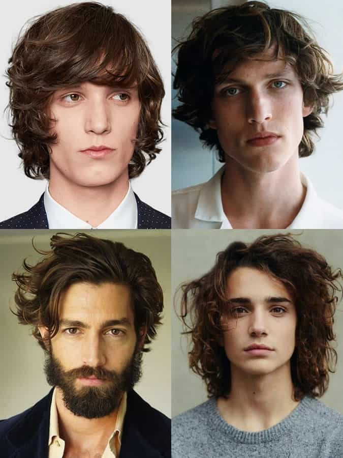 The best long hairstyles for men and how to grow your hair out mens long wavy hairstyles urmus Image collections