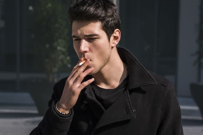 smoking is a habit that will age you