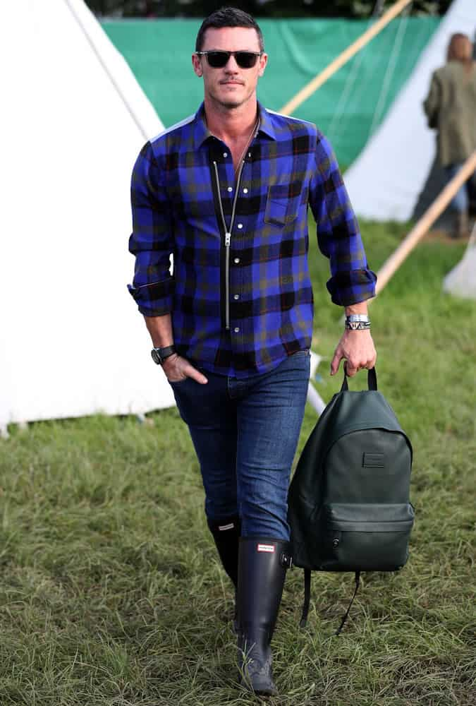 The Luke Evans Style Lookbook