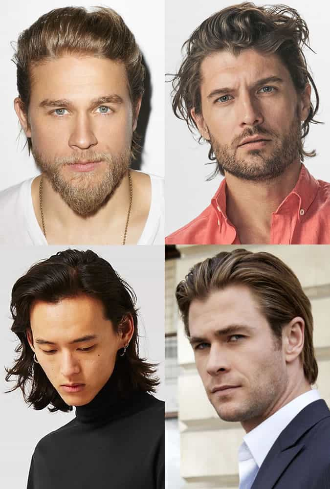 Men's Long Slicked Back Hairstyles