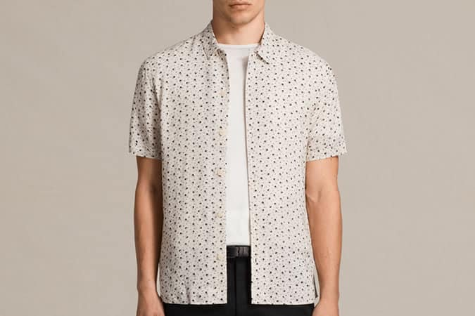 All Saints New Romantic Shirt