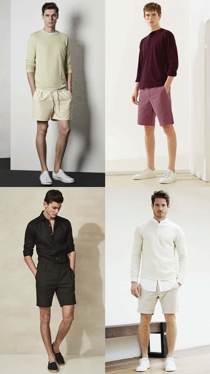 Men\u0027s summer tonal and one,colour outfits