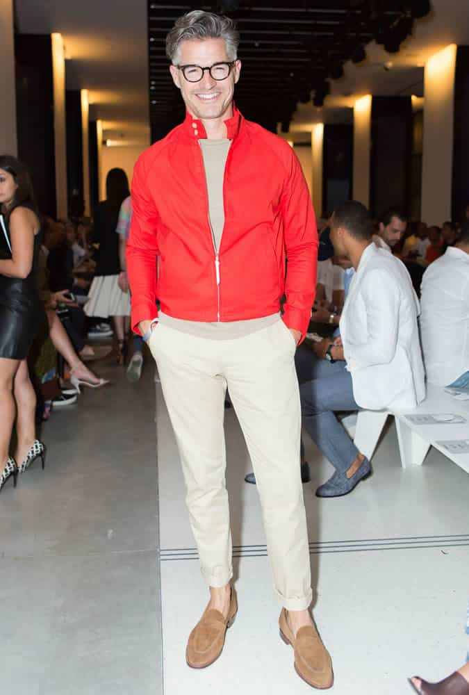 Eric Rutherford New York Fashion Week