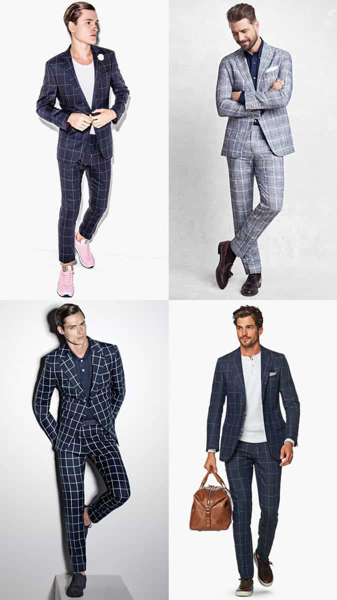 The best ways to wear a checked suit
