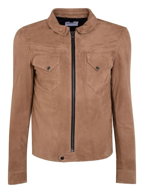 James Bay Topman Suede Jacket