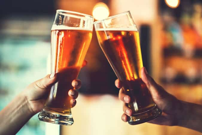 Alcohol can dramatically lower testosterone levels