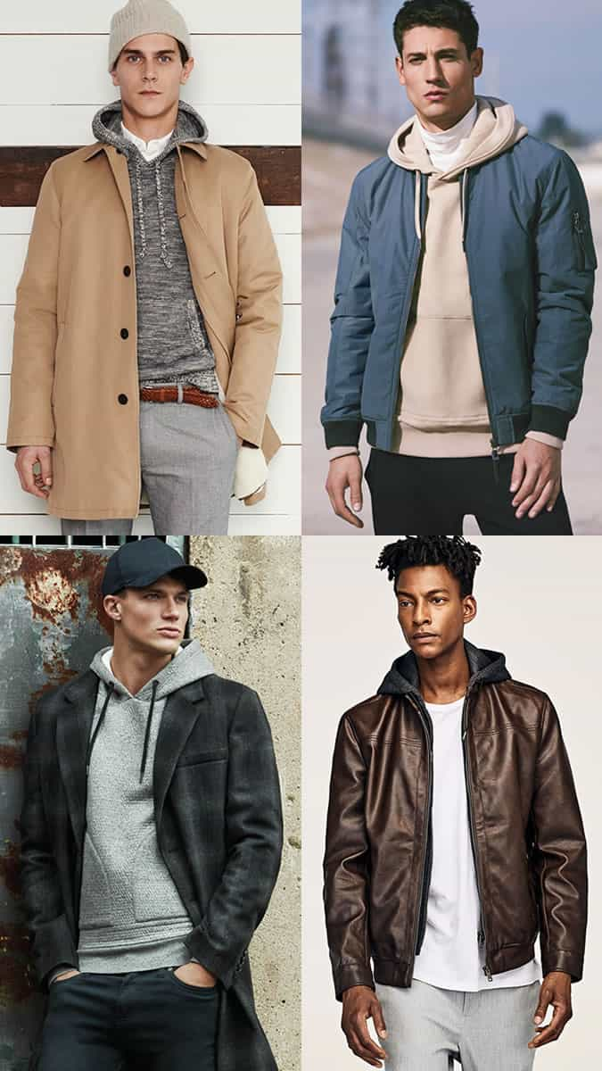 How to wear a hoodie in autumn/winter