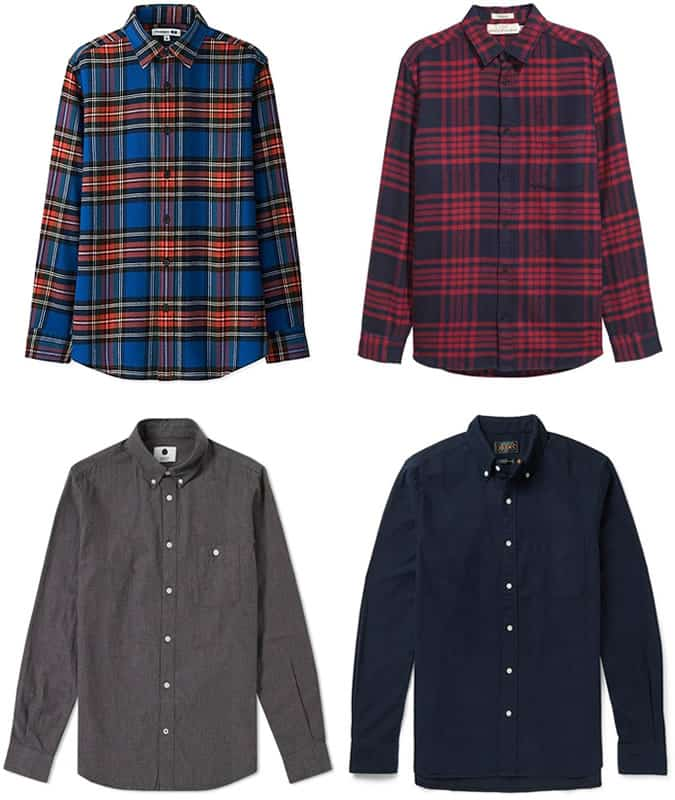 The best flannel shirts for men 2017