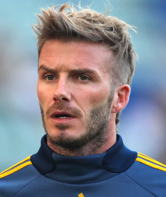 david beckham s best hairstyles and how to get the look fashionbeans. Black Bedroom Furniture Sets. Home Design Ideas